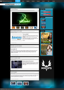 MMOPS - News Page by oEXE