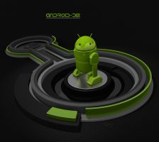 Android-D2 Wallpaper 1 For Portable Devices by PixelOz