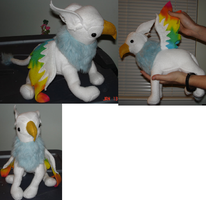 Plushie of Krakesam by TehAlbi