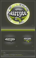 Logo - Airtyte by csjwcr by designerscouch