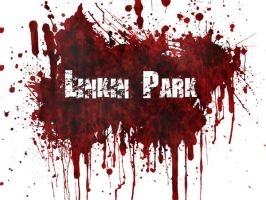 Linkin park blood wallpaper by daegyptianguru