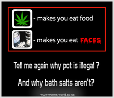 Why is pot illegal by Wormchow