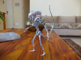 Finished ALIEN in wire by TheWallProducciones