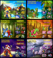 Sonic Trainer Cards by Rudolphtheehcidna