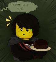 Cole and cake by Squira130