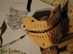 Tokyo Ghoul Kaneki Mask - WIP by Epic-Leather