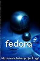 Fedora poster by Mola-mp