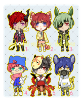 Auction Adopts SET 2 [CLOSED] by HEICHOUNISM
