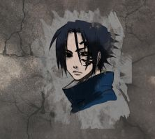 Sasuke with Juin: Coloured by akatsuki409