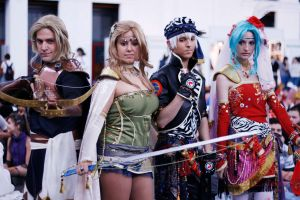 Final Fantasy VI Cosplay group by Kuropun86