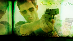 Michael Westen by Xutes