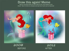Draw This Again 2008 vs 2012 by Nippy13