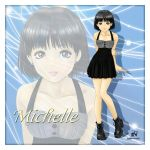 The cute Michelle by theNightwishmaster