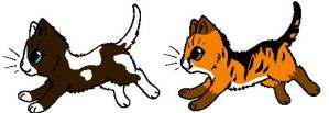 Kittens for thecat1313 by TwilightLuv10
