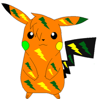 .:Pikachu OC:. by Electric-Rodent