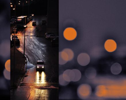 Lonely people in the the rain. by Oshrit182