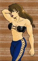 buff gal 2 colored by tj-caris
