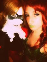 Ivy and Harley by aqueenwithnocrown