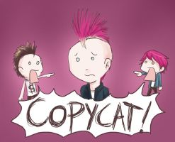 Poor Pink Mohawk... by Chocoreaper