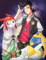 Space Dandy by S-AY
