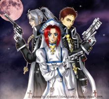 Trinity Blood-Abel,Esther,Tres by syren007