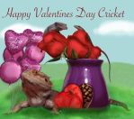 Happy Valentines Day Cricket! by maelthra-chath