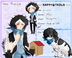 .: Rocco - Happy Tails App :. by MisterUrufu