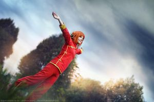 Kagura. Waiting for the rain 3 by aKami777