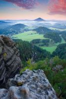 Awakening In Bohemian Switzerland by duffyit