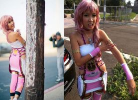 Behind the Scenes: Serah by the-sushi-monster