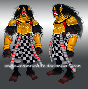 Barong Bali Design Contest by anamruskire