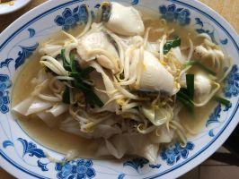 Sliced Fish Hor Fun Noodles by nosugarjustanger