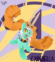 Lyrabella Heartsfists by familyof6