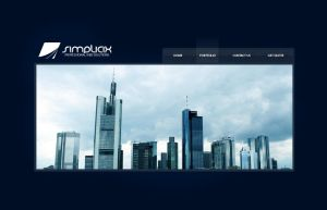 Simplicix Media Website by zblowfish
