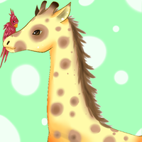 Giraffe by canned-sardines