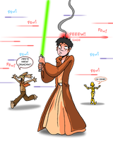 Carlos the Jedi by skull-boy666