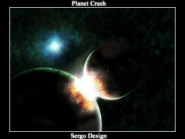 Planet Crash Space by sergo321