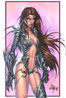 Witchblade color by vmarion07