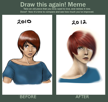 Draw this again meme -EDIT- by waterpieces