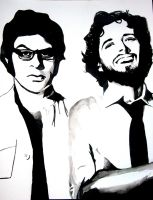 Flight of the Conchords by mixtapegoddess