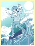 TSUNAMI WAVE SKATING by lylecore