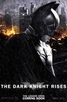 The Dark Knight Rises movie poster revised by DComp