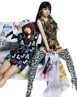 Minzy And Bom (2NE1) .PNG By:Milevip by Milevip