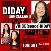 Vote for Diday The Voice of The Philippines by pokopoko14