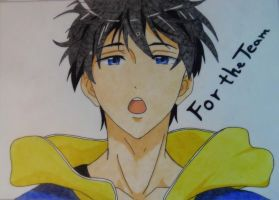 For the Team - Haruka by Etiell