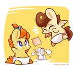 Pound Cake and Pumpkin Cake by ILifeloser