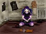 gothic lolita by dracontologe