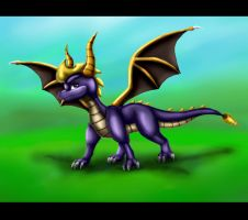 .:Spyro Old School:. by kryptangel92