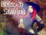 Blessed Samhain and Happy Halloween by MADmoiselleMeli