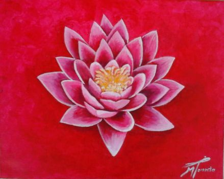 Be like a lotus by M-is-for-Maria
